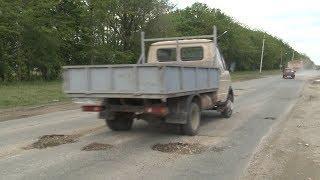 Жители Михайловска жалуются на плохое состояние одной из оживленных городских дорог