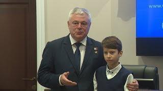 В 2018 году звания правозащитника Волгоградской области удостоен школьник