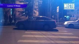 Обзор аварий  Опель протаранил столб на ул  Производственной  Место происшествия 10 10 2018