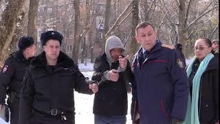 Подозреваемый в убийстве девушки в Суворовском показал, как убивал