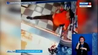 Камеры сняли вора-танцора в магазине на Ставрополье