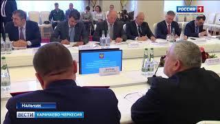 Рашид Темрезов принял участие в заседании совета при полпреде Президента РФ в СКФО Олеге Белавенцеве