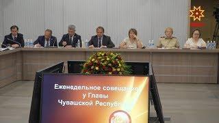 На совещании в Доме Правительства подвели итоги Дня Республики.