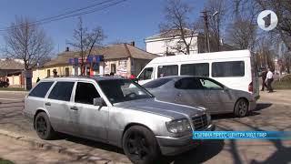 Авария в Тирасполе по ул. 25 Октября