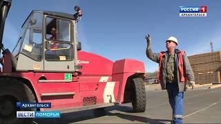 В Маймаксе на полную мощность вышел третий участок Лесозавода № 25