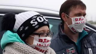 Активисты устроили Автопробег протеста Волоколамск – Москва