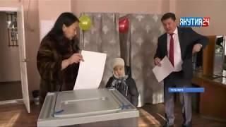 Пожилые избиратели Оймяконского района не остались без внимания
