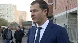 Исполняющий обязанности мэра города Владимир Волков встретился с обманутыми дольщиками