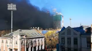 Один из самых дорогих новостроев России загорелся во Владивостоке. 1