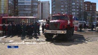 В торговых центрах Башкирии прошли пожарные учения