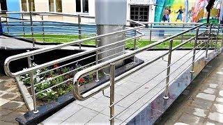 Общественники установили пандусы для инвалидов Ханты-Мансийска и Урая