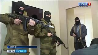В Саранске  прошли антитеррористические учения