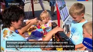 Ярмарку кружков для детей провели в Благовещенске