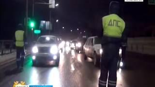 За три дня красноярские полицейские задержали 46 пьяных водителей