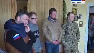 Участники рейда «Трофи-марш Победы» поздравили ветеранов с 9 мая