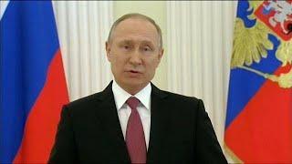 ЦИК: Путин - президент
