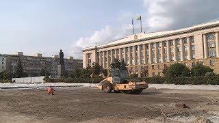 Реконструкцию площади Ленина в Пензе намерены завершить раньше срока
