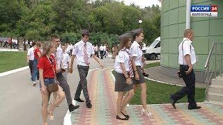Специальный репортаж. В Волгограде прошел слет юных железнодорожников