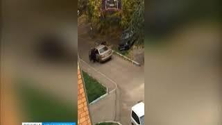 В Красноярске участники дорожного конфликта пустили в ход оружие