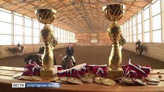 Соревнования по конному спорту прошли в поселке Огарково