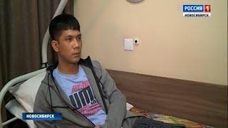 Новосибирские врачи поставили на ноги футболиста из Камбоджи