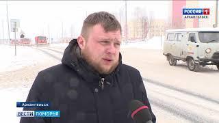 В Архангельске снегоуборочная техника работает в усиленном режиме