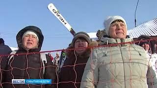 В Междуреченске отпраздновали Масленицу горнолыжными соревнованиями