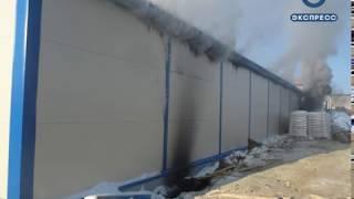 В Кузнецке сгорела станция обезжелезивания воды