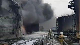 Возбуждено уголовное дело по факту пожара на месторождении в Нижневартовском районе