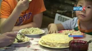 Многодетные мамы получили материальную помощь в Якутске