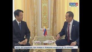 В  Чувашию  с визитом приехал Чрезвычайный и Полномочный посол Японии в России