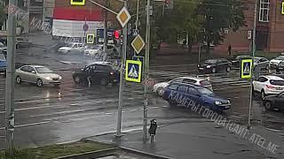 ДТП Луначарского   Герцена 28 09 2018