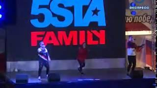 В Пензе на открытии спартакиады молодежи выступила 5sta Family
