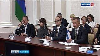 Перспективы сотрудничества обсудили сегодня на встрече с делегацией из Финляндии