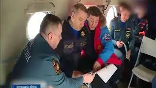 Почти 200 донских спасателей помогают бороться с паводком в Волгоградской области