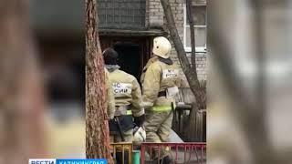В Калининграде спасатели спустились с крыши пятиэтажки, чтобы спасти ребенка у открытого окна
