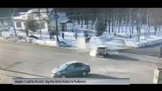 ДТП в Рыбинске едва не закончилось трагедией