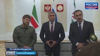 Ингушетия и Чечня договорились о границах между республиками
