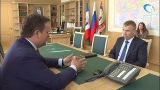 Андрей Никитин провел рабочую встречу с заместителем председателя правительства Новгородской области