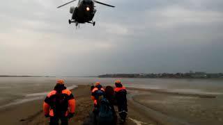 вертолет МЧС острова Хабаровск