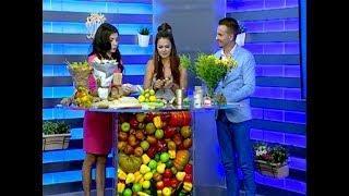 Основатель мастерской съедобной флористики Людмила Бадикова: я собрала букет из перцев в 1,68 м