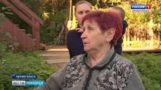 В Архангельске без воды вот уже две недели остаётся 100-летний жилой дом на Карла Маркса