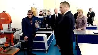 Юрий Трутнев в школе в Хабаровске