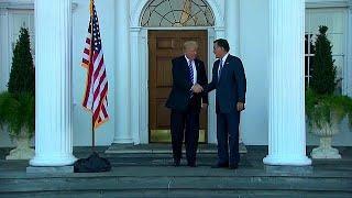 Дональд Трамп - за Митта Ромни!