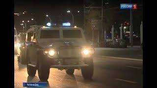 В Ростове на Театральной площади проходит репетиция парада сотрудников МВД