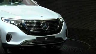 Первый электрокроссовер Mercedes-Benz