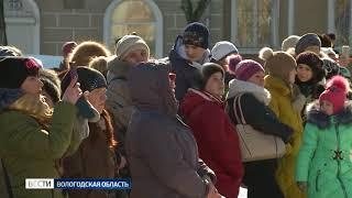 В Череповце масштабно отметили годовщину воссоединения Севастополя и Крыма с Россией