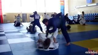 Тренировка женской сборной России по дзюдо