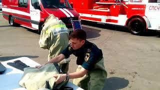 100 лет советской пожарной охране Хабаровск ролик 2