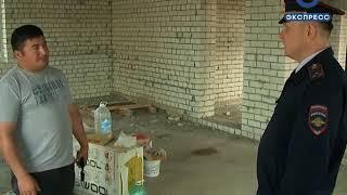 На пензенской стройке искали нелегальных мигрантов